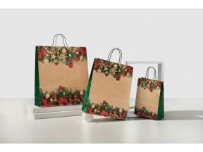 sacchetti di carta natalizi