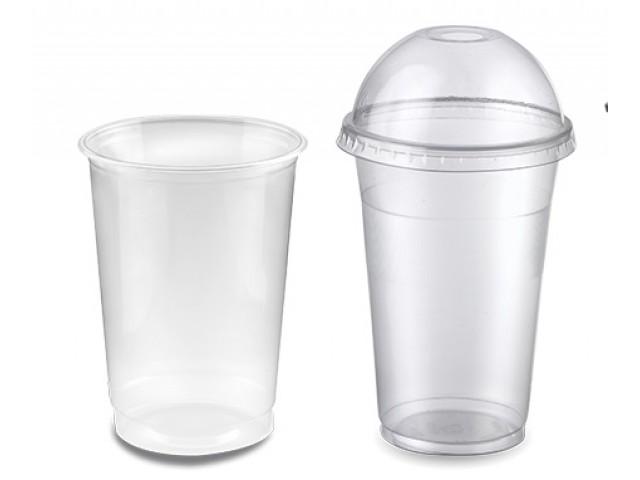 bicchiere plastica trasparente resistente
