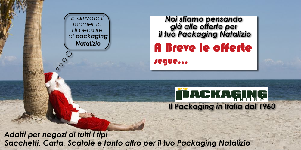 packaging natale