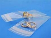 Buste trasparenti chiusura c/pattella adesiva cm10,5x14+04 pz100