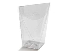 Scatola sacchetto trasparente mm 80x80x190 pz.50