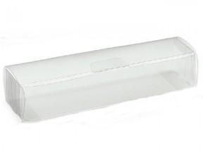 Scatola astuccio trasparente  mm 160x40x30 pz.50