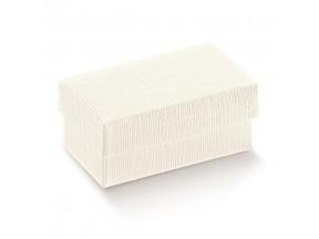 Scatola cartone bianco con coperchio mm 120x120x60