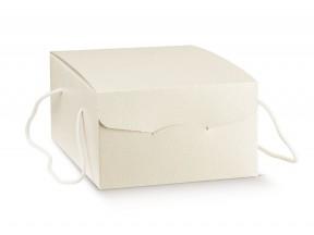 Scatole per colomba o asporto dolci c/cordini mm.335x235xh140