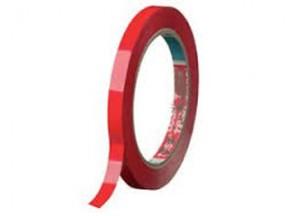 Nastro adesivo rosso per sigillatore mm. 9x66 mt. pz. 16