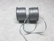 Nastri di rafia di carta argento mm 7 metri 100