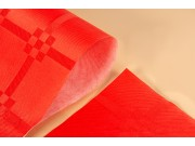 Tovaglie coprimacchia carta rossa damascata cm.100x100 pz.50