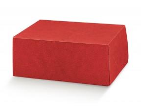Scatole cartone regalo rosso marmotta mm 500x400x195