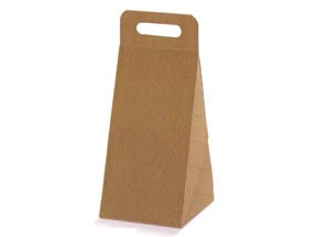 Scatola triangolare per formaggio mm 140x170x280 pz.10