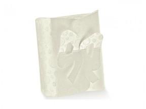 Scatola cartone sfere bianco chiusura fiocco mm.200x170x50 pz10