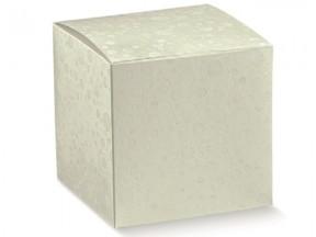Scatole cartone sfere bianco mm. 80x80x80 pz.50