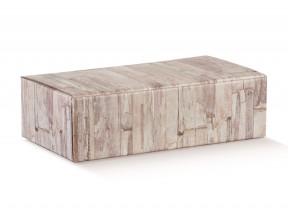 Scatole portabottiglie per 2 bott.wood mm.340x180x95