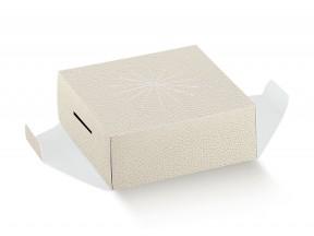 Fondi x uovo di pasqua pz.10 mm.150x150xh50 bianco
