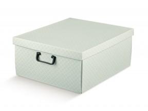 Scatole armadio grigio matalasse' mm 400x460x190 con manici