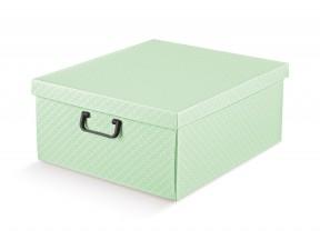 Scatole armadio verde matalasse' mm 420x470x210 con manici