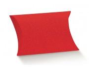 Scatole portaconfetti busta rosso mm. 70x70x25 pz.10