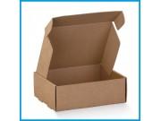 Scatole per spedizioni in cartone avana piatte mm.205x160xh80