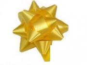 Stelle fiocchi coccarde oro adesive diametro cm.6 pz.100