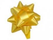 Stelle fiocchi coccarde oro adesive diametro cm.8 pz.50