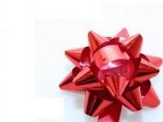 Stelle coccarde metal rosso adesive diam. cm.6 pz.100