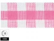 Nastro quadretti rosa largo mm.9 lungo 25 metri