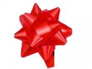 Stelle fiocchi coccarde rosso adesive diametro cm.8 pz.50