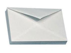 Buste bianco posta cm. 18x24 pz. 25