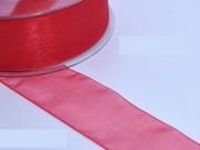 Nastro organza rosso mm 10 metri 50