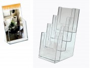 Portadepliant trasparente cm. 11x24