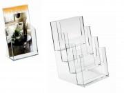 Portadepliant trasparente cm. 16x24