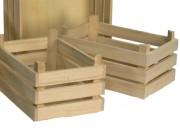 Cassetta in legno naturale mm.250x170 h.110
