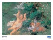 Anonimo amorini cm. 70x50 stampa arte affiches