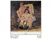 Egon schiele la famiglia cm. 50x50 stampa arte affiches