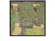 Gustav klimt casa nel parco cm. 33x33 stampa arte affiches