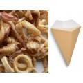 Coni per gastronomia fritti in cartoncino altezza cm. 17,5 pz.50