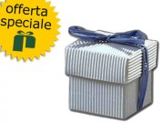 Scatola cartone1 onda argento mm. 50x50x50 pz.50