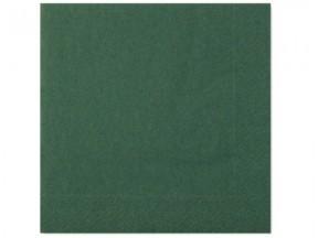 Tovaglioli carta 2 veli verde foresta cm 40x40 pz. 50