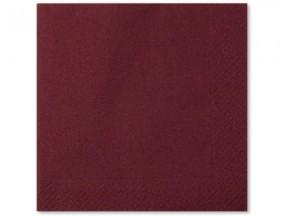 Tovaglioli carta 2 veli cioccolatto cm 33x33 pz.50