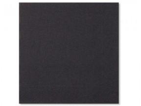 Tovaglioli carta 2 veli neri cm 25x25 pz.100