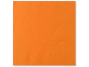 Tovaglioli carta 2 veli arancio cm. 25x25 pz. 100