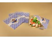 Sacchetto carta per panino kebab cm 15x15 pz.500