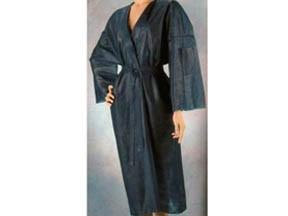 Kimono vestaglia tnt nero monouso pz.10