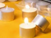 Candeline tealight bianchi diametro mm.38 h.16 pz. 80