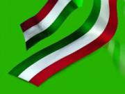 Nastro tricolore italia mm. 10 metri 250