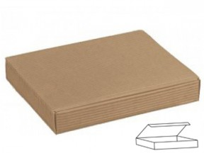 Scatola cartone avana cornice mm. 260x230x30 pz.10