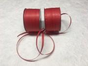 Nastri di rafia di carta rosso mm 7 metri 100