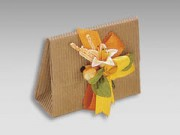 Bomboniera portaconfetti avana mm 85x30x65 pz.10