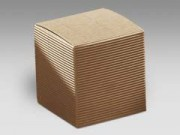 Scatola cartone pieghevole avana mm. 90x90x90 pz. 10