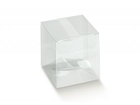 Scatola trasparente mm 80x80x200 pz.50