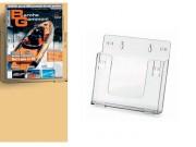 Portadepliant componibili in plastica trasparente cm. 23x22